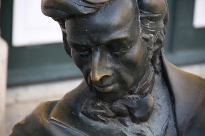 The Statue of Chopin in Havana
