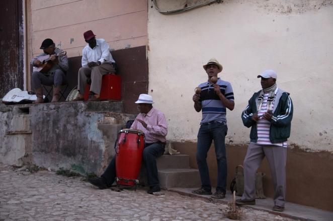 Musicians in Trinidad, Cuba