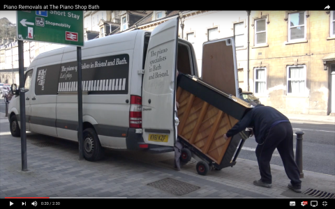piano removals video